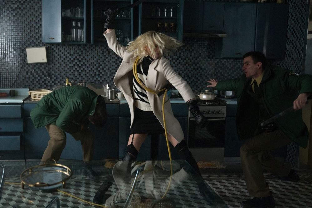 Atomic Blonde, in cinemas August 11, 2017