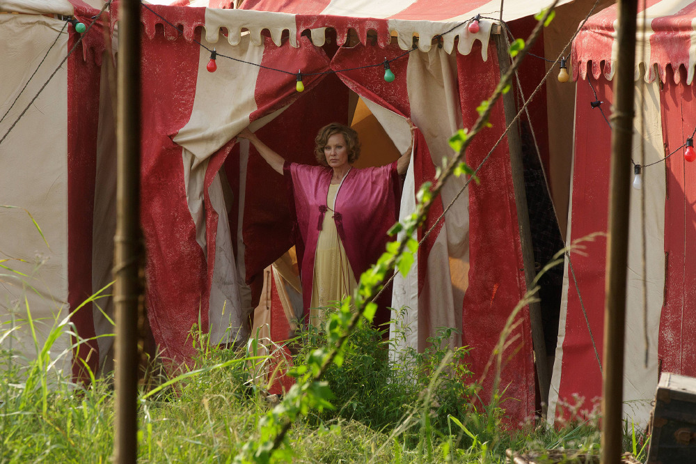Jessica Lange's last American Horror Story appearance came in 'Freak Show'