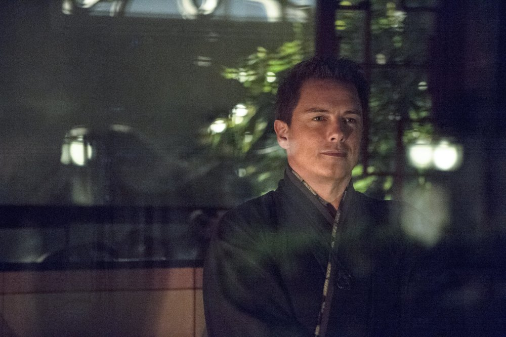 John Barrowman as Malcolm Merlyn in Arrow / Credit: The CW