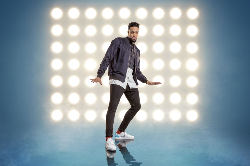 Ashley Banjo serves as a judge on Dancing On Ice / Credit: ITV