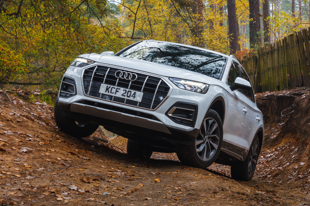 The Q5 takes Off Road in its stride