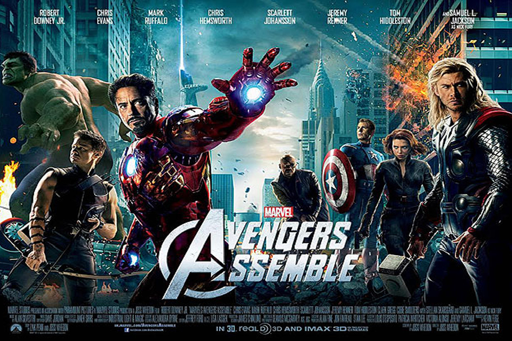 Marvel Movie Posters: Highest Grossing Marvel Cinematic Universe Movies