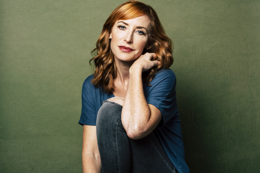 Karen Strassman chats with Female First / Photographer: Birdie Thompson, Hair and Makeup: Allison Noelle, Clothing: Pinup Girl