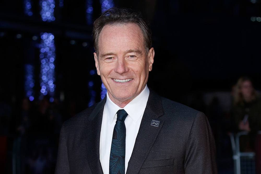 Bryan Cranston Is 39 Deliriously Happy 39 About Oscar Nomination