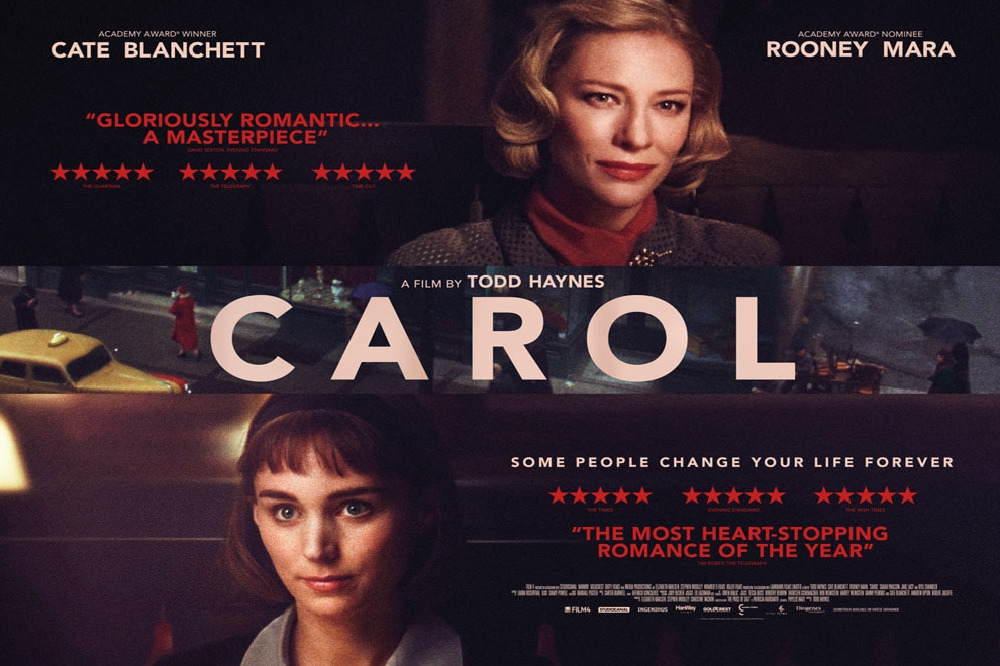 Check Out New Carol Poster