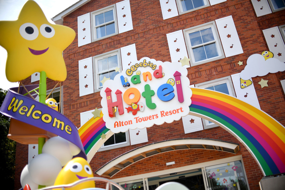 The CBeebies Land Hotel is now open at Alton Towers Resort