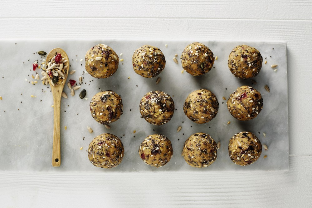 Chickpea Berry Protein Balls