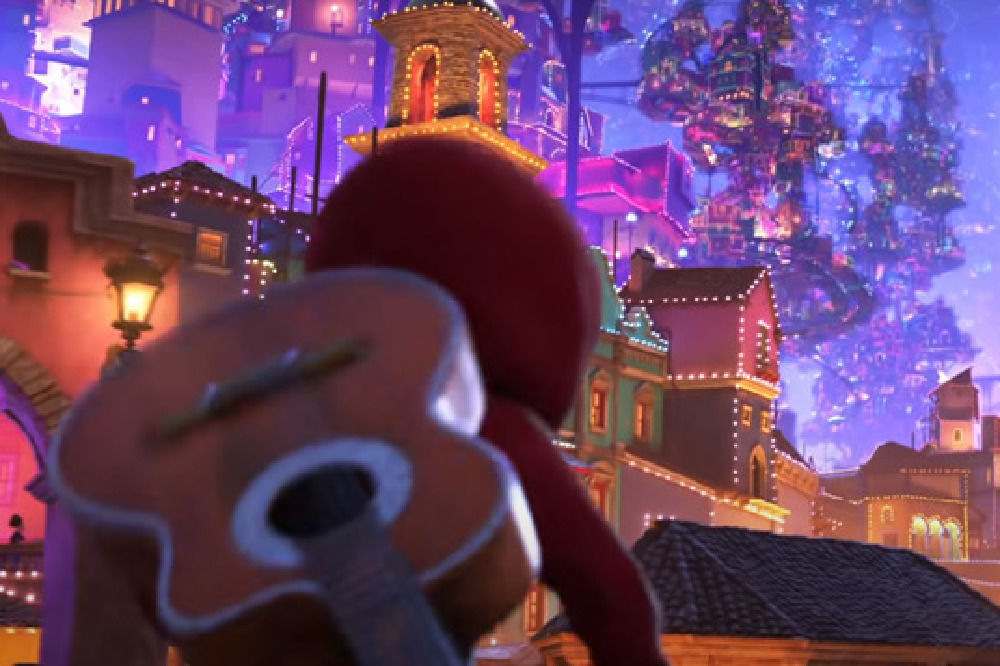 The Land of the Dead in Coco / Picture Credit: Disney