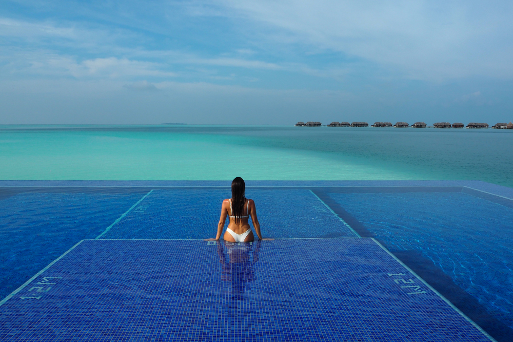 Sabrina Chakici at the Conrad Maldives