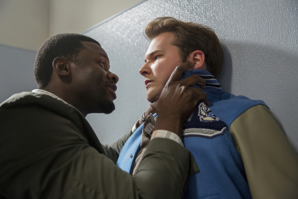 Derek Luke and Justin Prentice as Kevin Porter and Bryce Walker / Photo Credit: Beth Dubber/Netflix