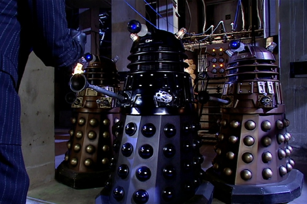 3/4 of The Cult of Skaro / Picture Credit: BBC One