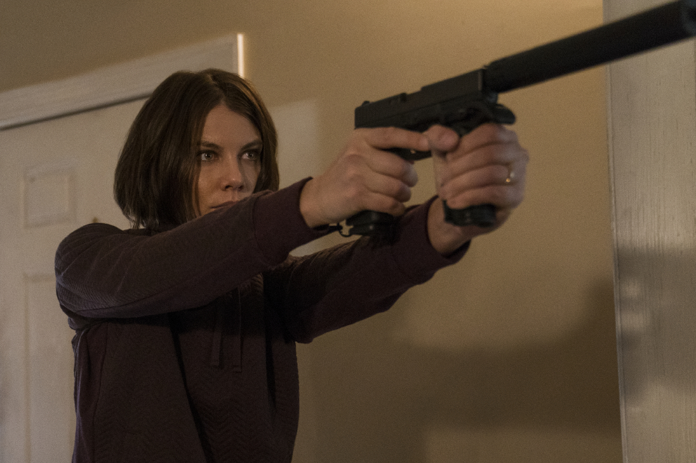 Lauren Cohan as Alice Kerr in Mile 22 / Photo Credit: David Bryan (Freuds)
