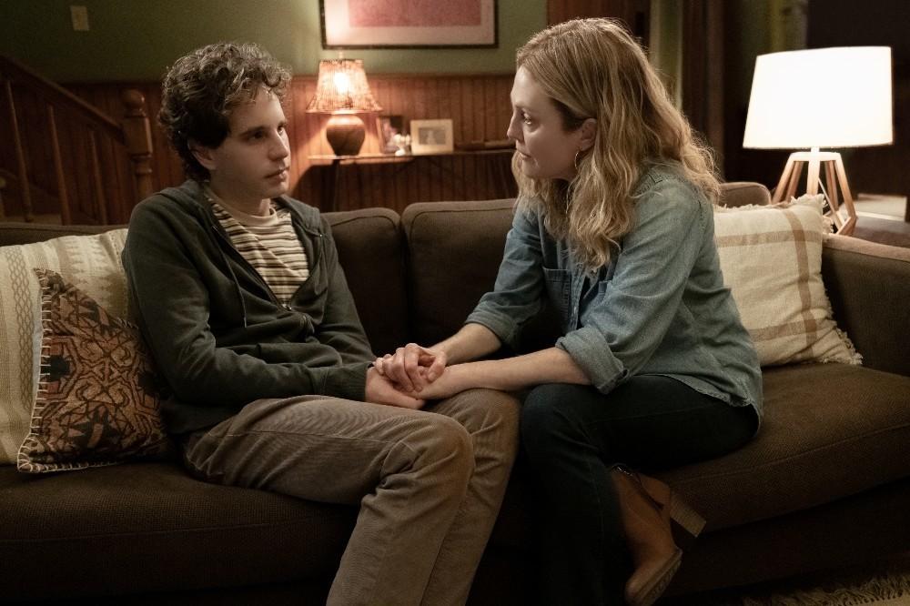 Ben Platt and Julianne Moore in Dear Evan Hansen / Photo Credit: Universal Pictures