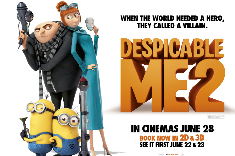 movie review despicable me 2 Movie reviews for despicable me 2 mrqe metric: see what the critics had to say and watch the trailer.