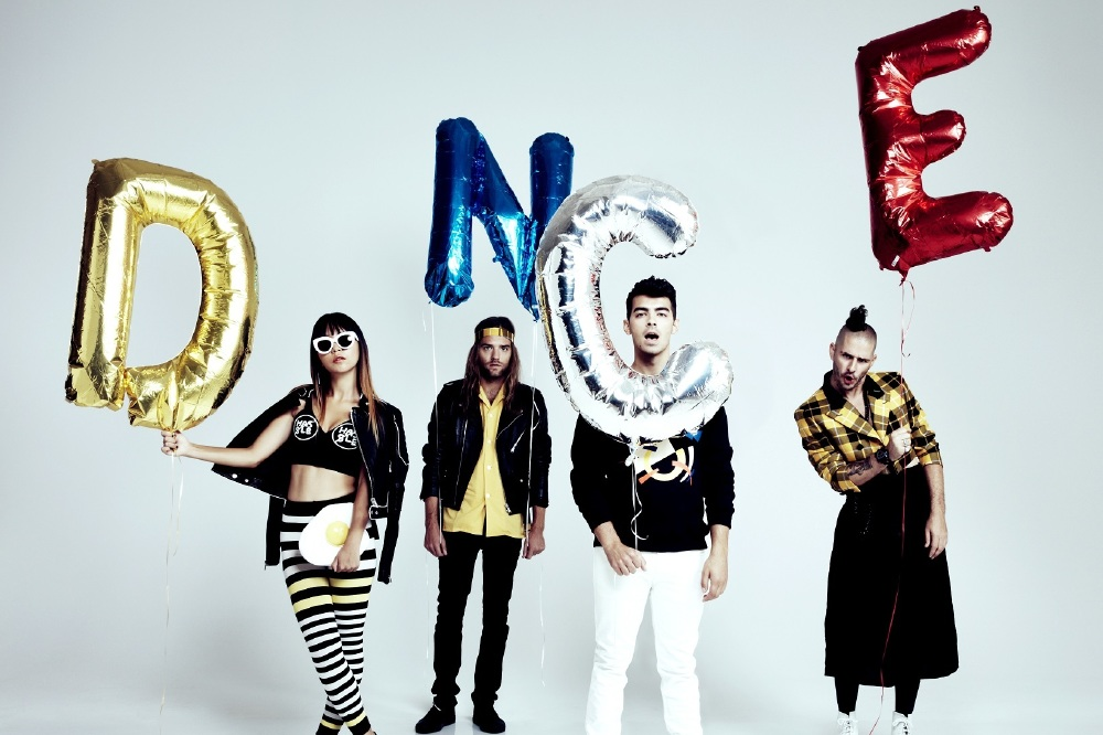 DNCE return with new track 'Kissing Strangers' / Credit: Emily Shur