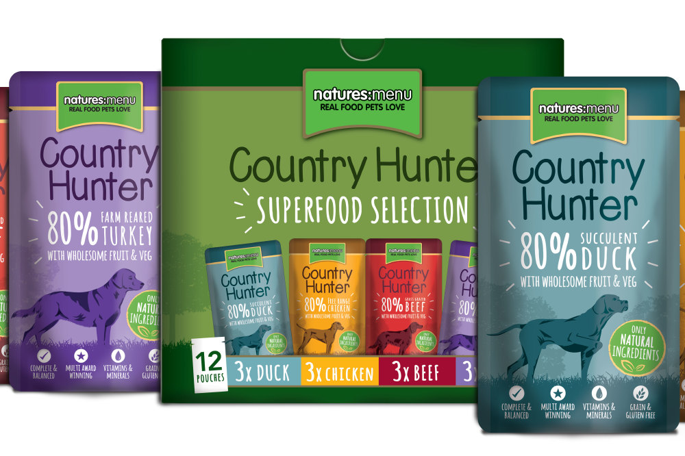 Win 4 Months' Supply Of Natures Menu Country Hunter Food
