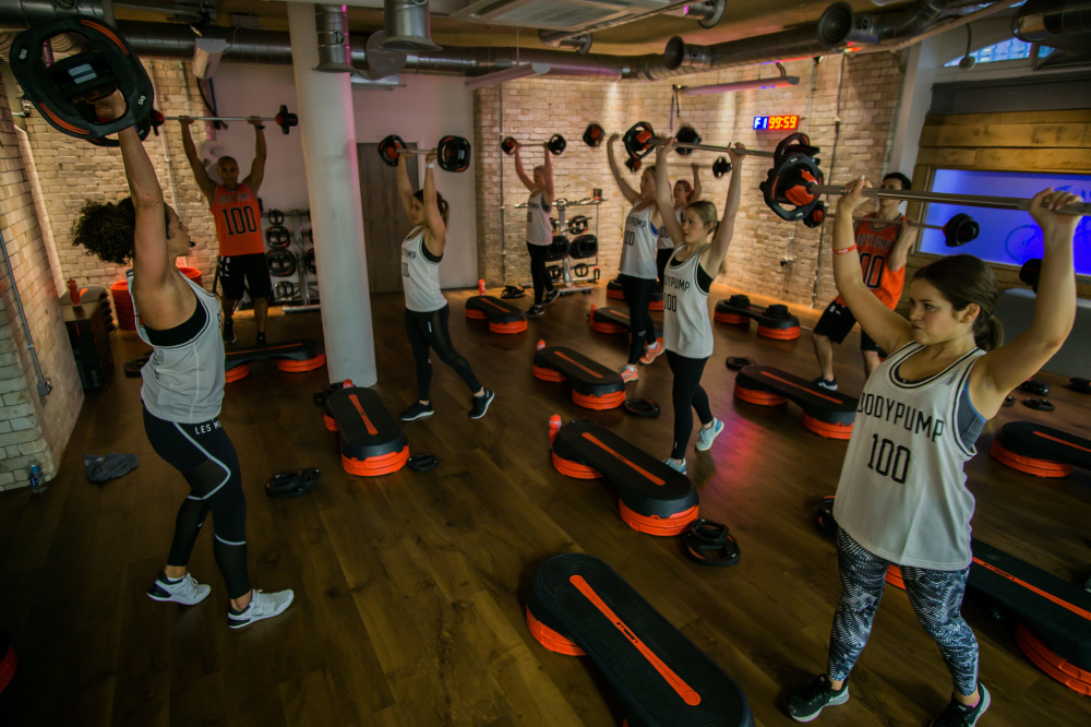 Les Mills UK celebrates 25 years of BODYPUMP100 at Urban Fitness London