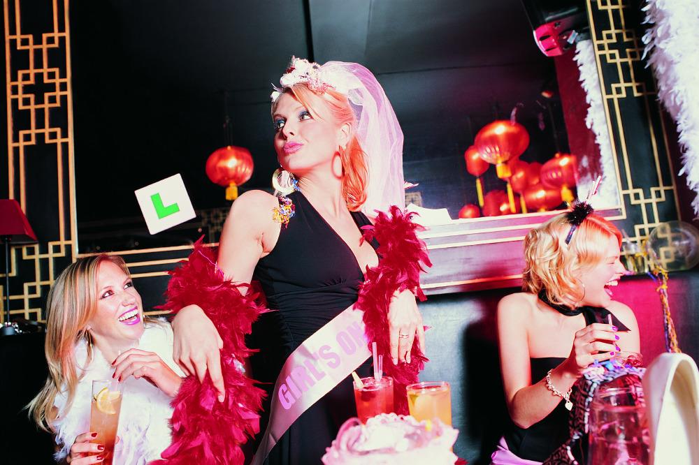 Cheat hen night strippers england