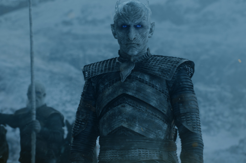 The Night's King made a huge move this week on Game of Thrones / Credit: HBO