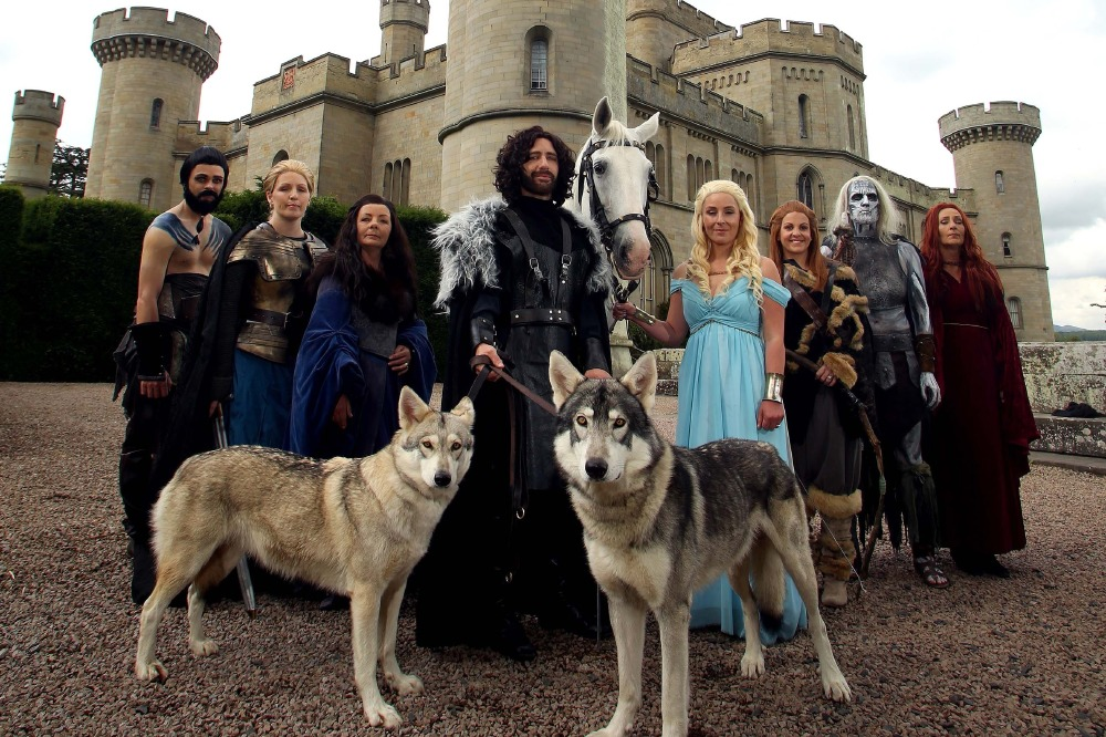 Real Life Wedding Darren And Kerrys Game Of Thrones Themed Ceremony