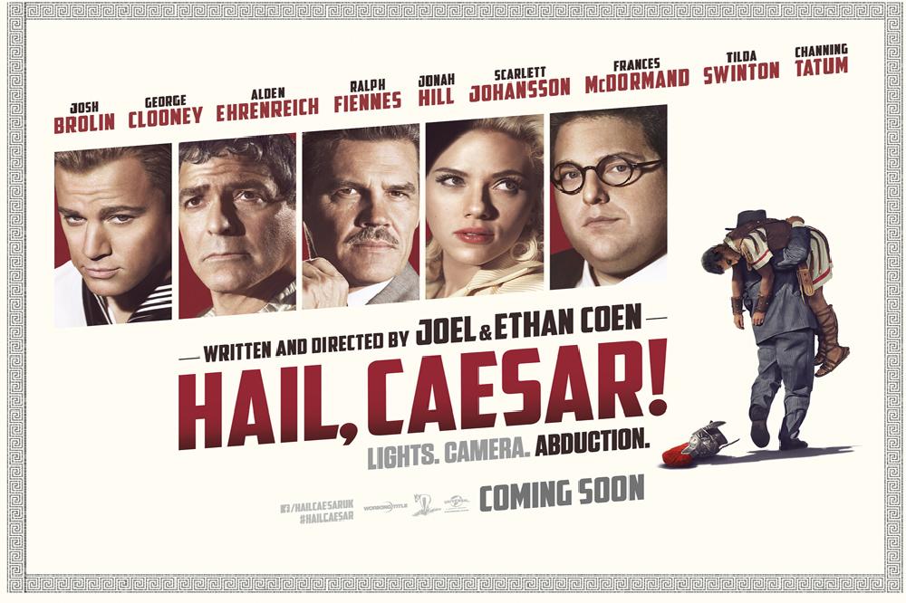 Hail, Caesar! New Poster