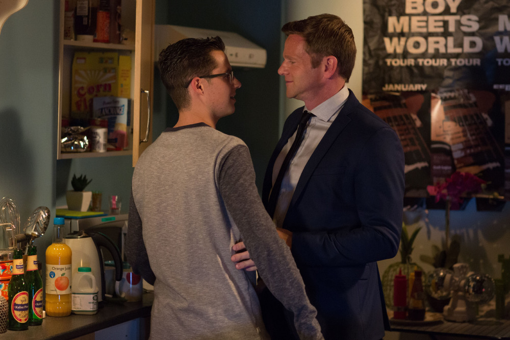 Ben Mitchell's relationship with Luke continues in EastEnders / Credit: BBC