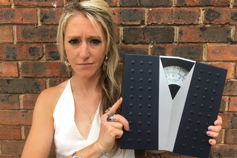 Hope Virgo has launched her 'Dump the Scales' campaign