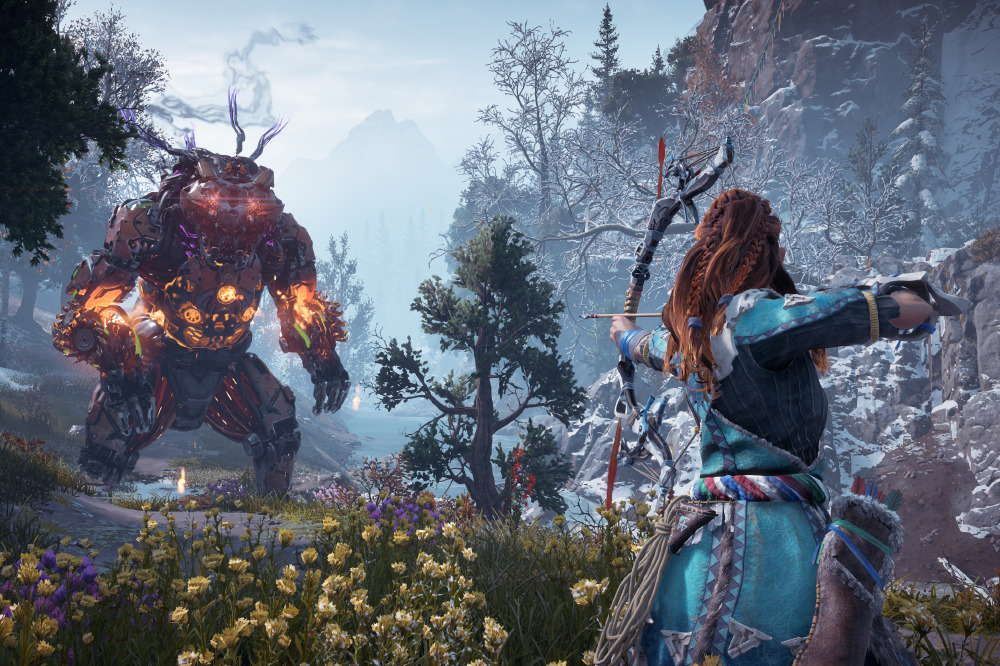 Horizon Zero Dawn The Frozen Wilds Review Playstation 4