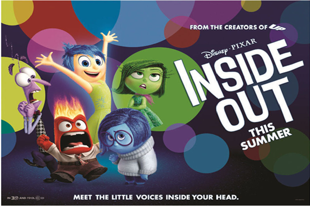 Best Movies of 2015: 1 - Inside Out