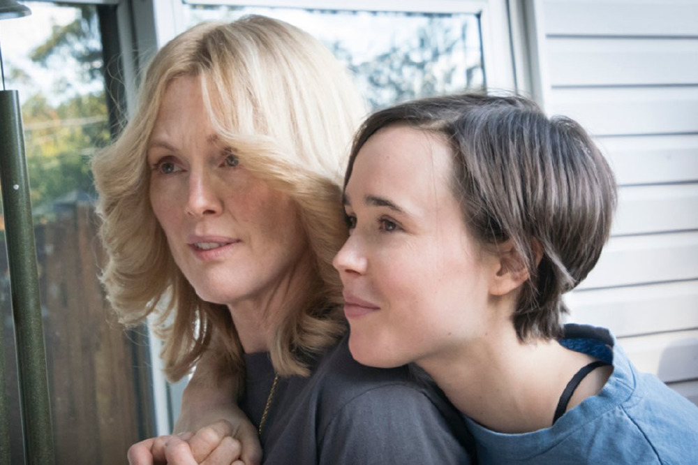 Julianne Moore and Ellen Page as Laurel and Stacie in Freeheld