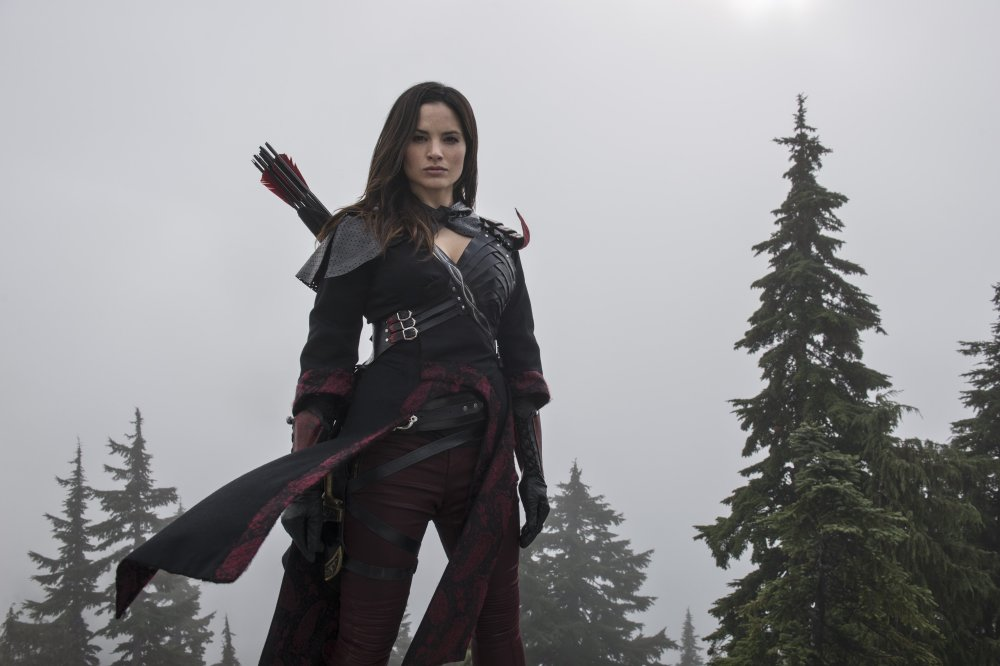 Katrina as Nyssa in Arrow / Credit: The CW