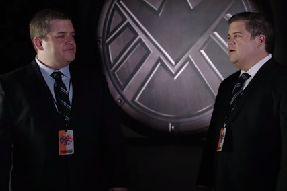 Patton Oswalt as two of the Koenig brothers / Picture Credit: ABC