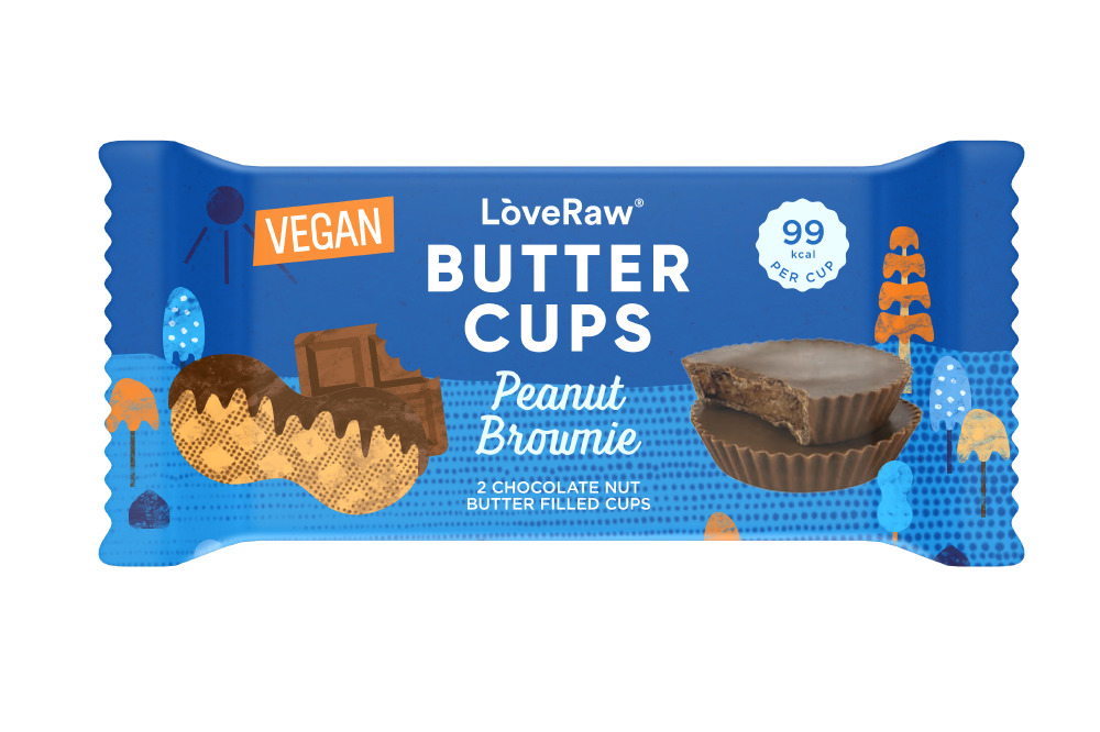 Love Raw Peanut Brownie Butter Cups