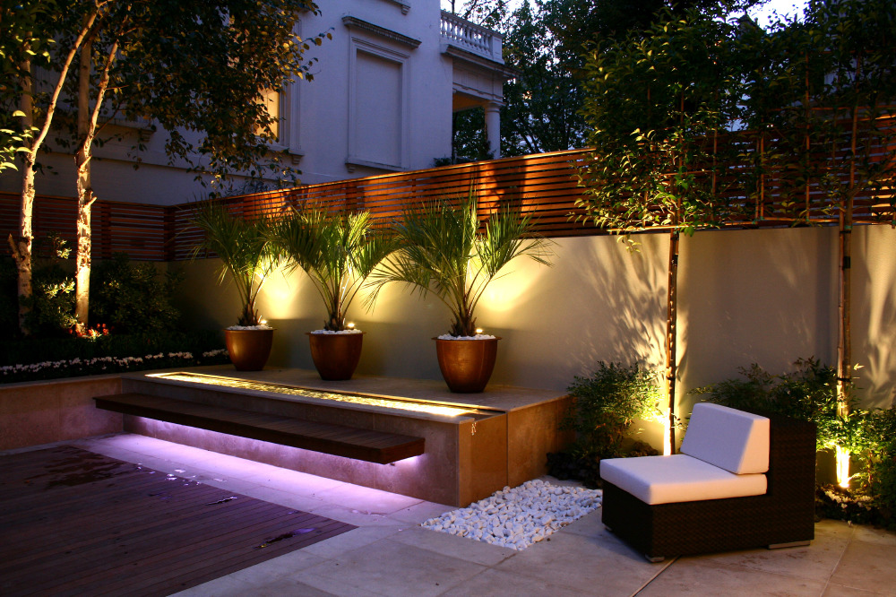 get the lighting right in your small garden - Garden Lighting