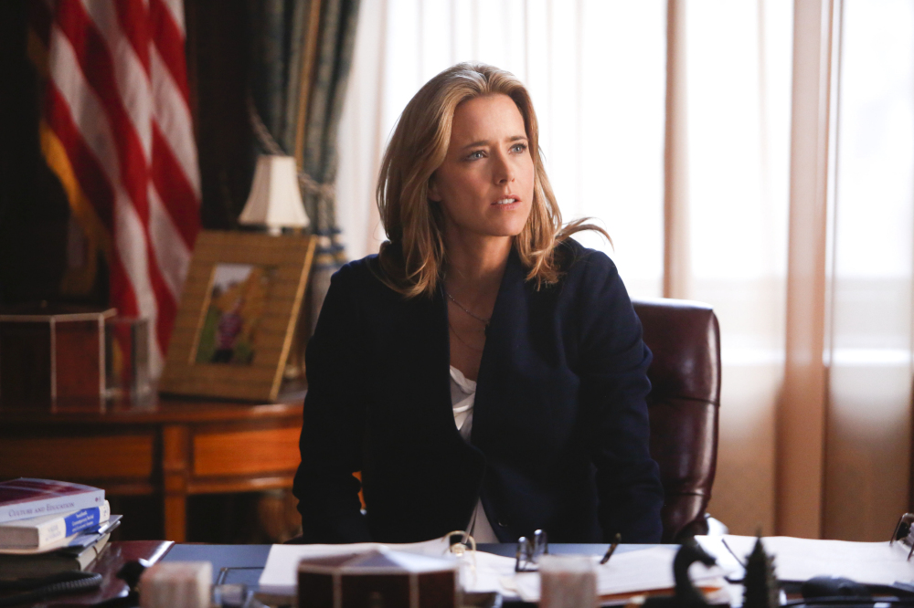 Téa Leoni as Elizabeth / Credit: CBS