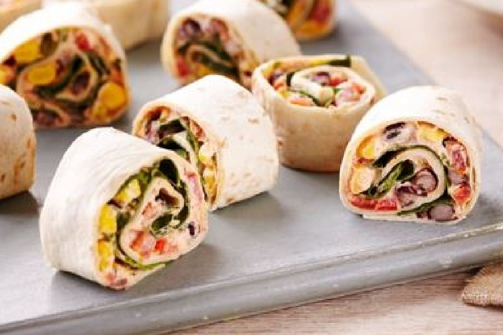 Vegan Mexican Vegetable Roll Ups