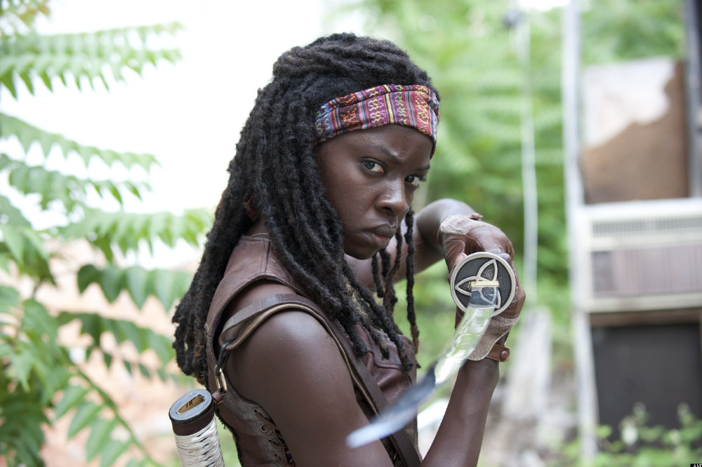 Danai Gurira as Michonne / Credit: AMC