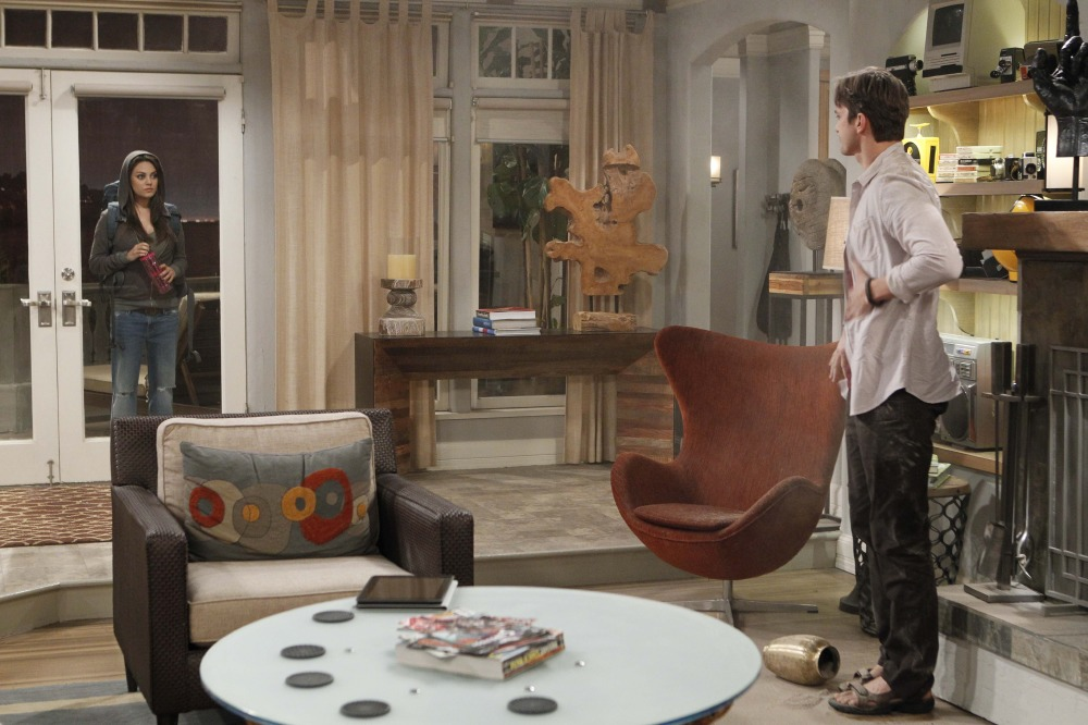 Mila Kunis Stars With Ashton Kutcher In Two And A Half Men