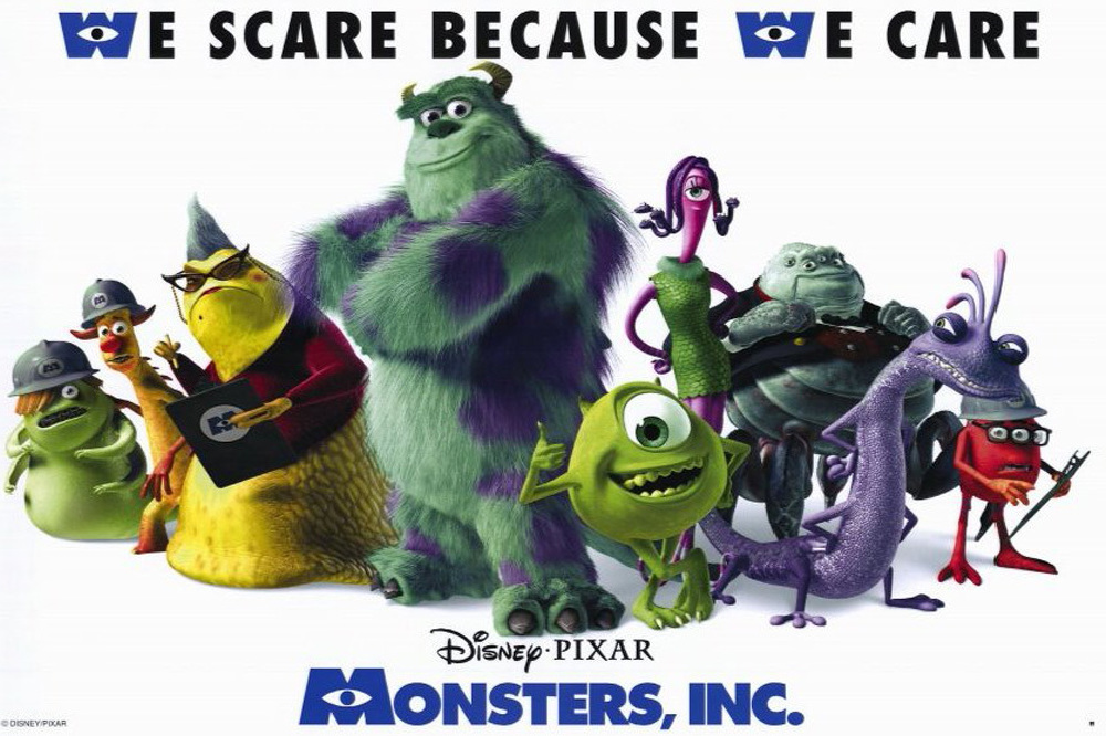 economics and monsters inc There are quite a few films with economic content – some more obvious than   and the holy grail: marginal analysis monsters inc: production possibilities.