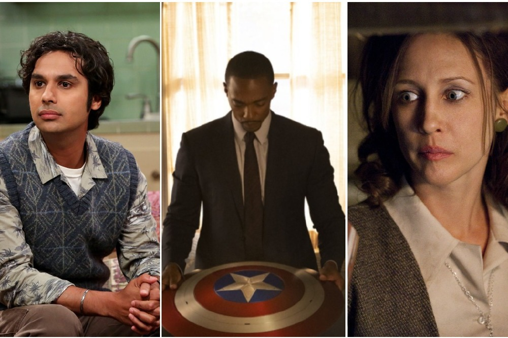 Picture Credits (l-r): CBS, Marvel Studios and Disney+, New Line Cinema