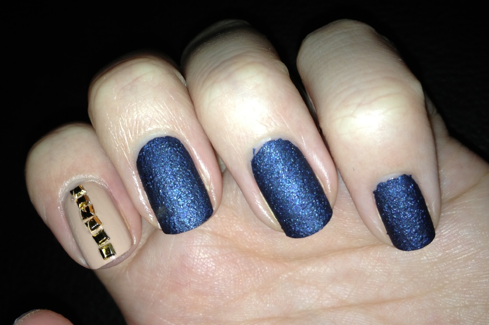 Nail Art Nails Inc Denim Varnish