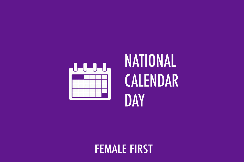 National Calendar Day on Female First
