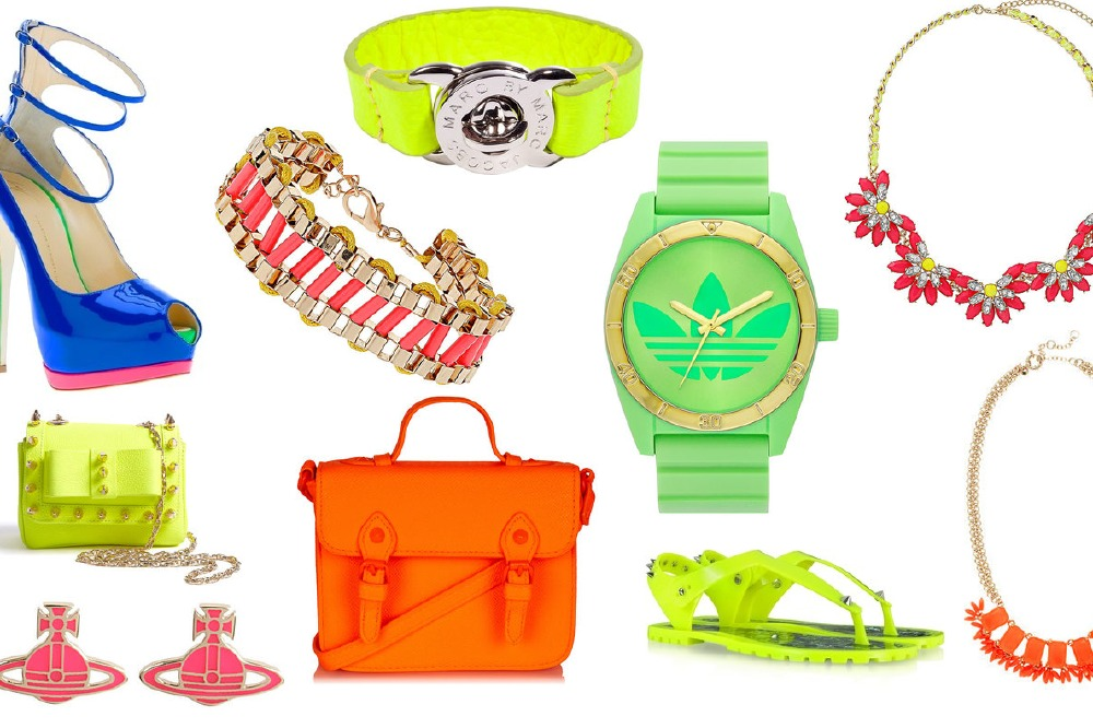 Fashion trend: Neon accessories