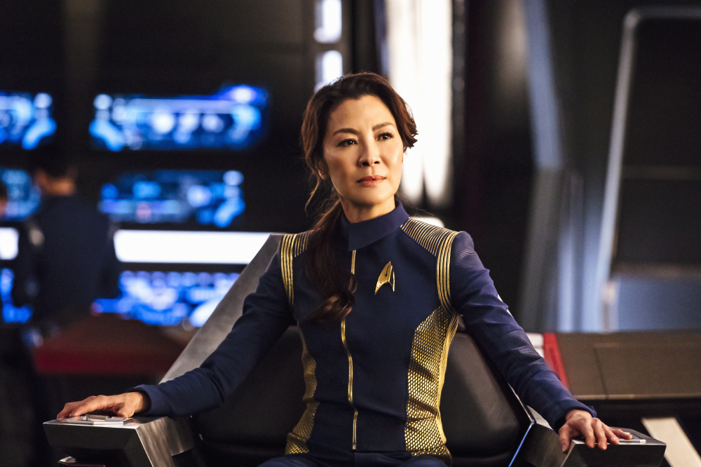 Michelle Yeoh also stars in Discovery