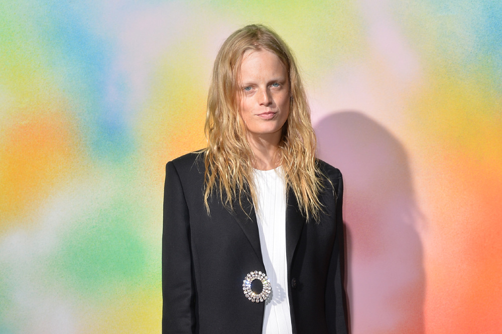 Hanne Gaby Odiele at the #BoF500 gala during New York Fashion Week / Photo Credit: NYKC/FAMOUS