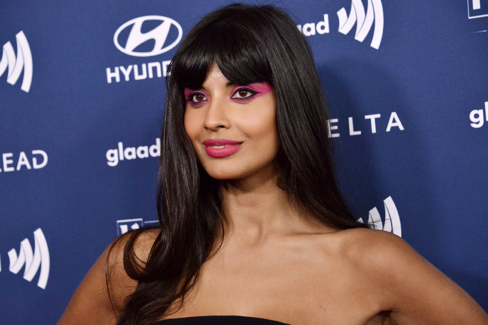 Jameela Jamil is paving the way for self-love. Photo: PA