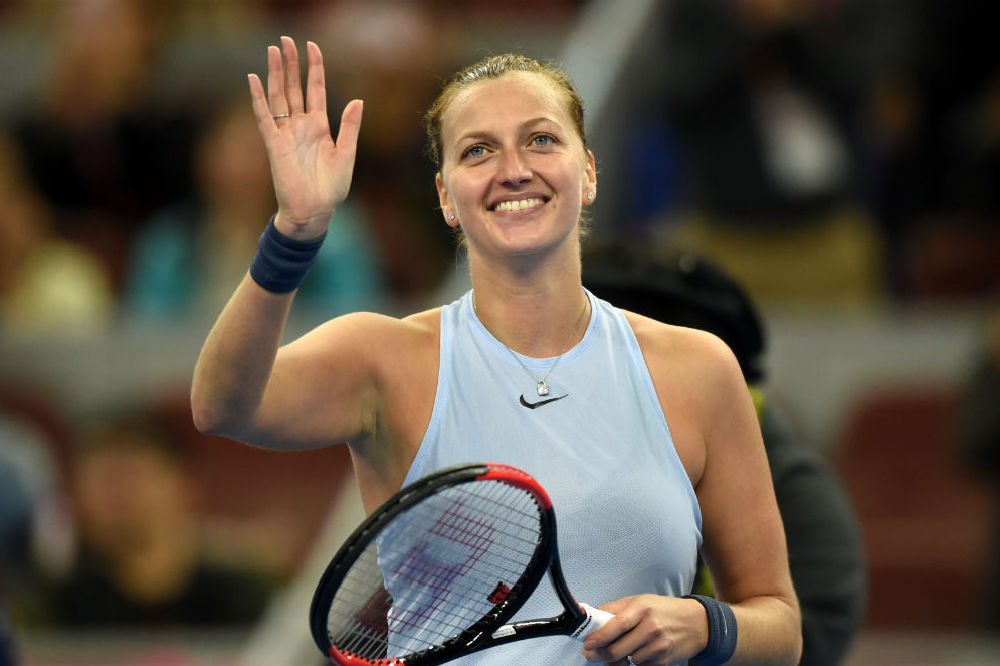 Petra Kvitova at China Open 2017 / Photo Credit: Ju Huanzong/Xinhua News Agency/PA Images