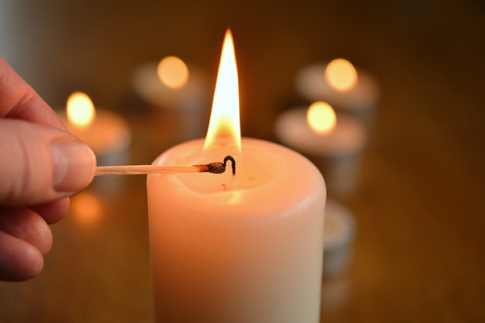 Candles are simple home decoratives that will add style to your home