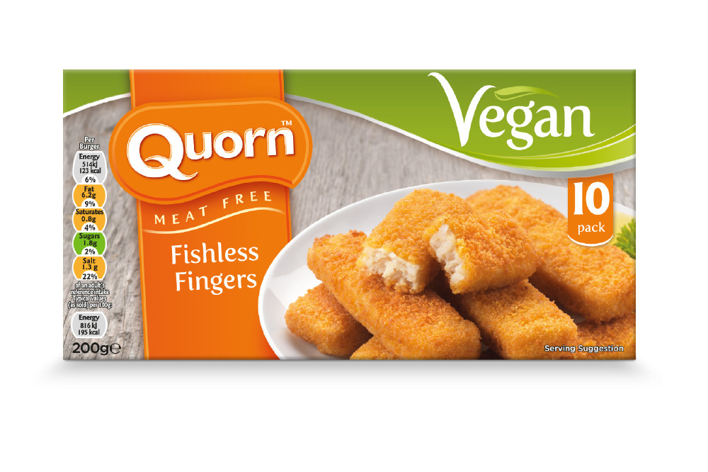 Quorn Meat Free Fishless Fingers