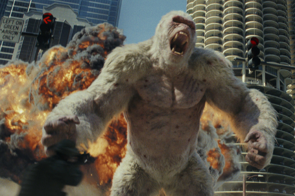 Rampage Review Roundup Does The Movie Break The Video Game Adaptation Curse